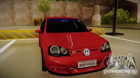 VW Golf GTI 2008 для GTA San Andreas вид слева