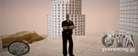 Los Angeles Police Officer для GTA San Andreas пятый скриншот