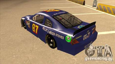 Toyota Camry NASCAR No. 87 AM FM Energy для GTA San Andreas вид сзади