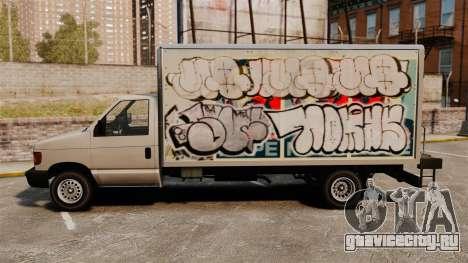 Новые граффити для Steed для GTA 4 вид справа