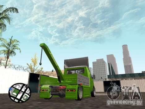 Газель Эвакуатор для GTA San Andreas вид слева