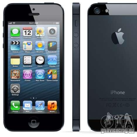 GTA V to SA: Iphone 5 для GTA San Andreas второй скриншот