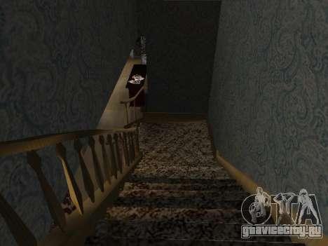 Новый интерьер 2-ух этажного дома CJ для GTA San Andreas девятый скриншот