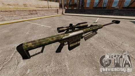 Снайперская винтовка Barrett M82 v7 для GTA 4 второй скриншот