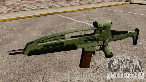Автомат HK XM8 v1 для GTA 4 третий скриншот
