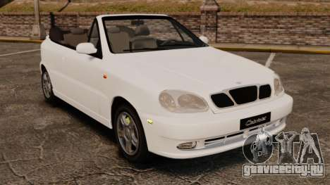 Daewoo Lanos 1997 Cabriolet Concept для GTA 4