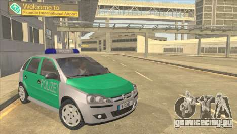 Opel Corsa 1.2 200516V Polizei для GTA San Andreas