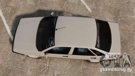 Fiat Tempra SX.A для GTA 4 вид справа