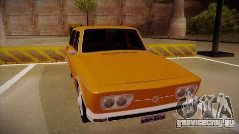 VW Variant 1972 для GTA San Andreas вид слева
