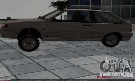 ВАЗ 2113 для GTA San Andreas вид сверху