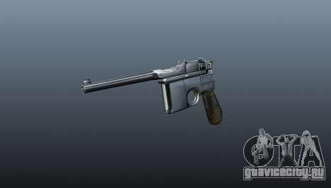 Пистолет Маузер v1 для GTA 4