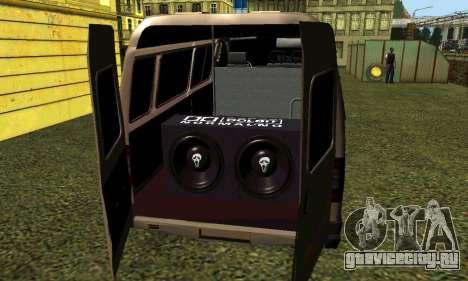 ГАЗель Тюнинг для GTA San Andreas вид справа