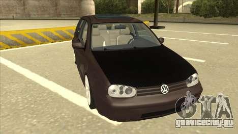 VW Golf 4 Tuned для GTA San Andreas вид слева