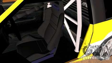 New Blista Compact для GTA San Andreas вид справа