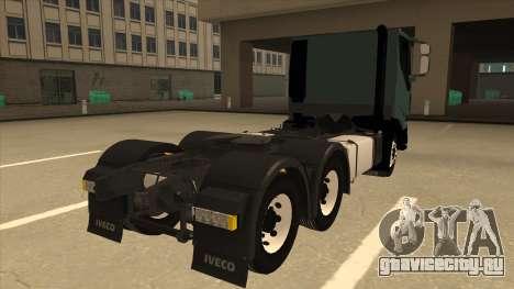 Iveco Hi-Land для GTA San Andreas вид справа