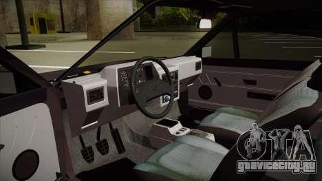 Volkswagen Gol для GTA San Andreas вид сзади