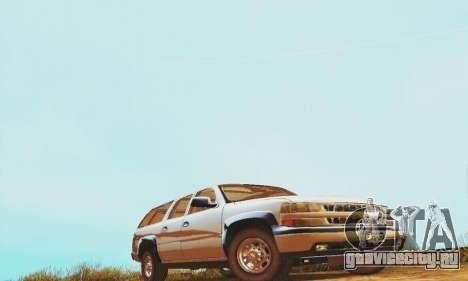 Chevrolet Suburban SAPD FBI для GTA San Andreas вид слева
