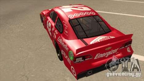 Chevrolet SS NASCAR No. 42 Clorox для GTA San Andreas вид сзади