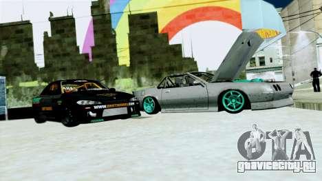Buffalo Drift для GTA San Andreas вид слева