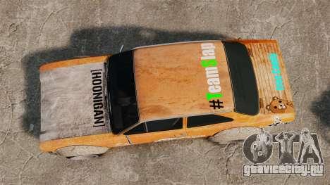 Ford Escort Mk1 Rust Rod для GTA 4 вид справа