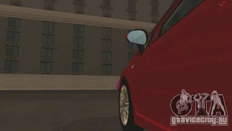 Fiat Grande Punto для GTA San Andreas двигатель