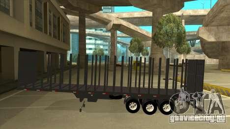 Полуприцеп для Mercedes-Benz LS 2638 для GTA San Andreas вид слева