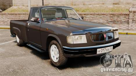 ГАЗ-3110 Пикап для GTA 4