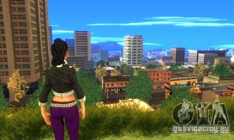 Shaundi From Saints Row Third для GTA San Andreas четвёртый скриншот