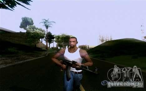 АК-47 для GTA San Andreas восьмой скриншот