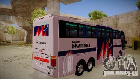 Busscar Jum Buss 400 P Volvo для GTA San Andreas вид справа