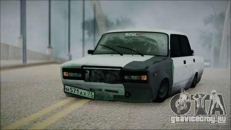 ВАЗ 2107 Бродяга для GTA San Andreas