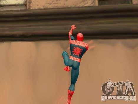 Карабкаться по стенам как Человек-паук для GTA San Andreas второй скриншот