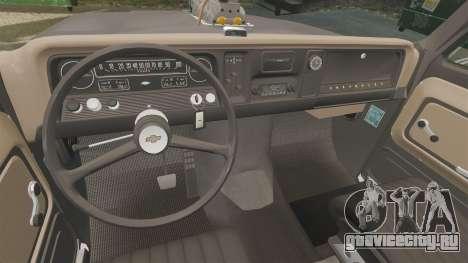 Chevrolet C-10 Stepside v3 для GTA 4 вид сбоку