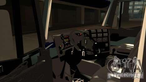 Iveco Hi-Land для GTA San Andreas вид сзади