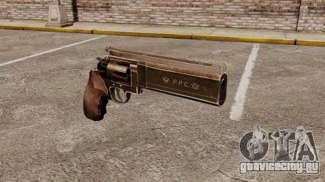 Револьвер Dan Wesson PPC 357 для GTA 4