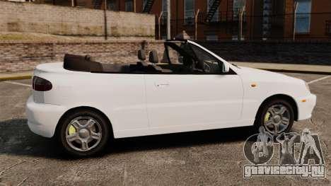 Daewoo Lanos 1997 Cabriolet Concept для GTA 4 вид слева