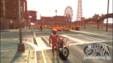 Мотоциклист для GTA 4 второй скриншот