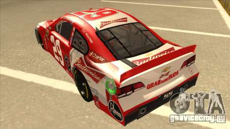 Chevrolet SS NASCAR No. 29 Budweiser для GTA San Andreas вид сзади