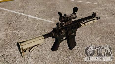 Автоматический карабин М4 VLTOR v4 для GTA 4 второй скриншот
