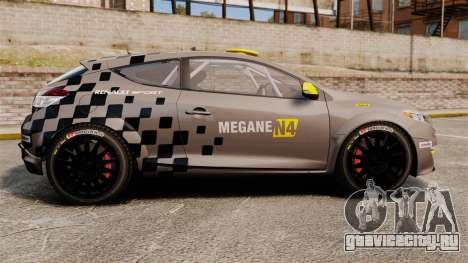 Renault Megane RS N4 для GTA 4 вид слева