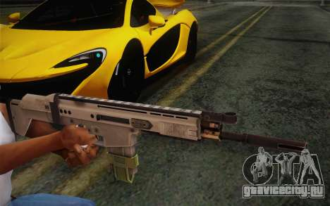 FN Scar для GTA San Andreas