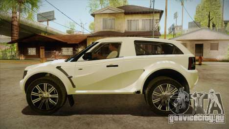 Bowler EXR S 2012 HQLM для GTA San Andreas вид слева