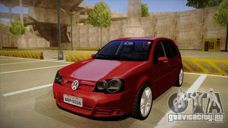 VW Golf GTI 2008 для GTA San Andreas