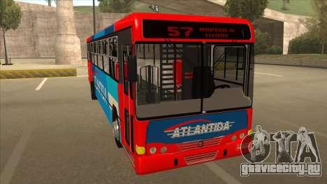 Marcopolo Torino G6 Linea 57 Atlantida для GTA San Andreas вид слева