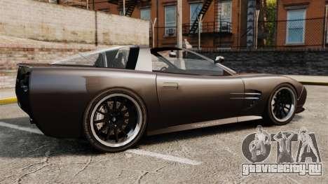 Coquette Targa для GTA 4 вид слева