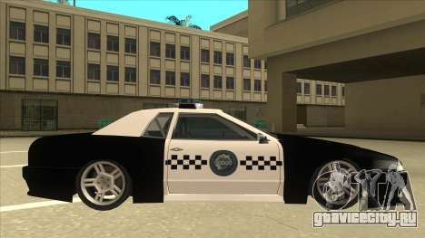 Elegy Police для GTA San Andreas вид сзади слева