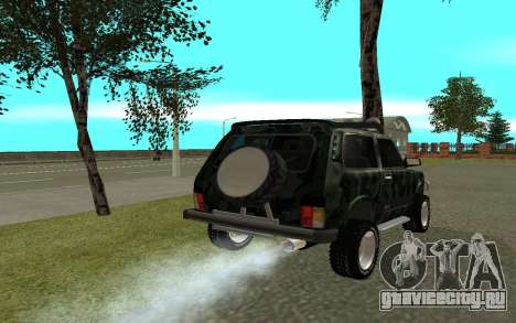 ВАЗ 21213 для GTA San Andreas вид сзади слева