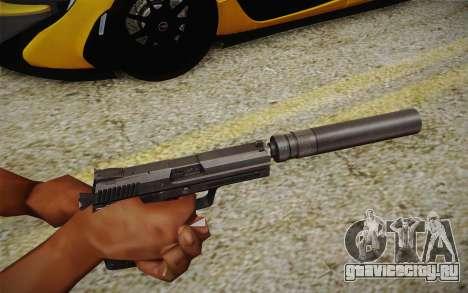 USP45 с глушителем для GTA San Andreas второй скриншот
