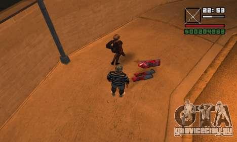 DeadPool Mod для GTA San Andreas пятый скриншот