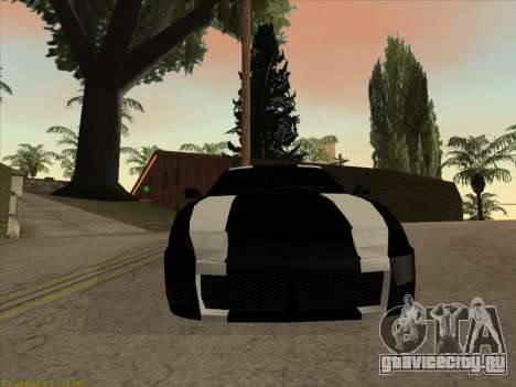 New Jester для GTA San Andreas вид сзади слева